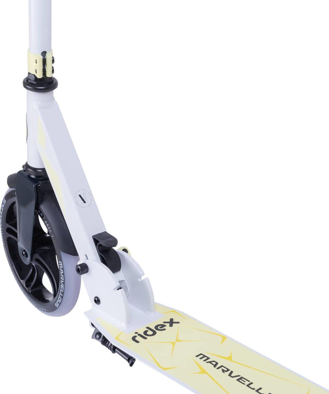 RIDEX Marvellous Самокат 2-х колес. 200 мм  Marvellous: белый/жёлтый - 2
