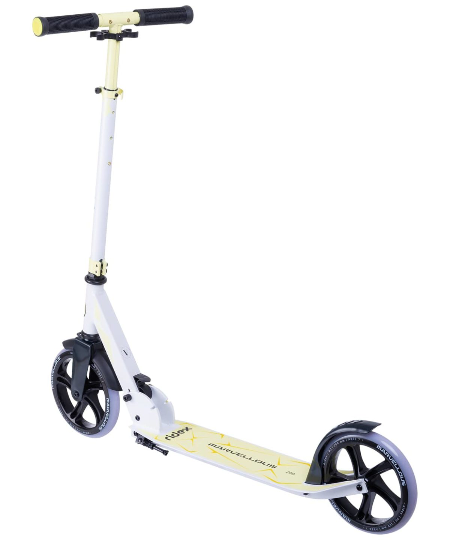 RIDEX Marvellous Самокат 2-х колес. 200 мм  Marvellous: белый/жёлтый - 6