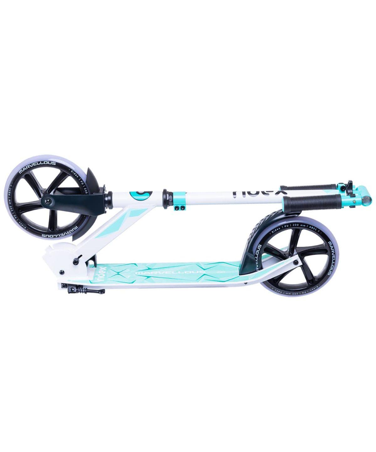 RIDEX Marvellous Самокат 2-х колес. 200 мм  Marvellous: белый/мятный - 4
