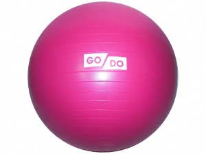 SPRINTER Мяч д/фитнеса Anti-burst GYM BALL диам. 65см  FB-65: малиновый - 4