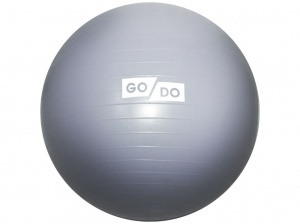 SPRINTER Мяч д/фитнеса Anti-burst GYM BALL диам. 65см  FB-65: серебро - 5