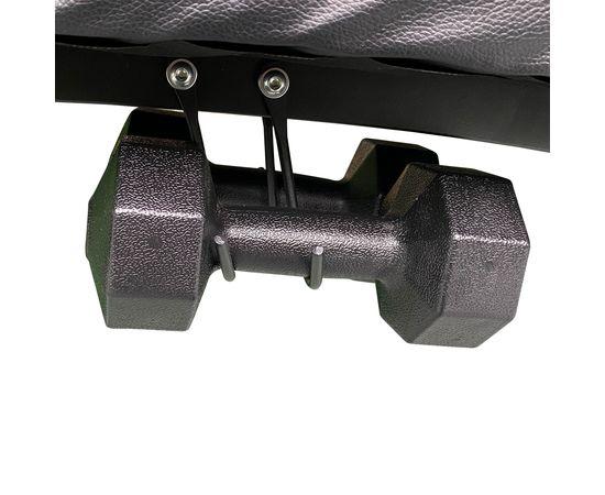 DFC Cкамья для пресса с гантелями и эспандерами  D102RY - 6