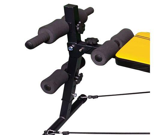 DFC Cкамья для пресса с гантелями и эспандерами  D102RY - 7