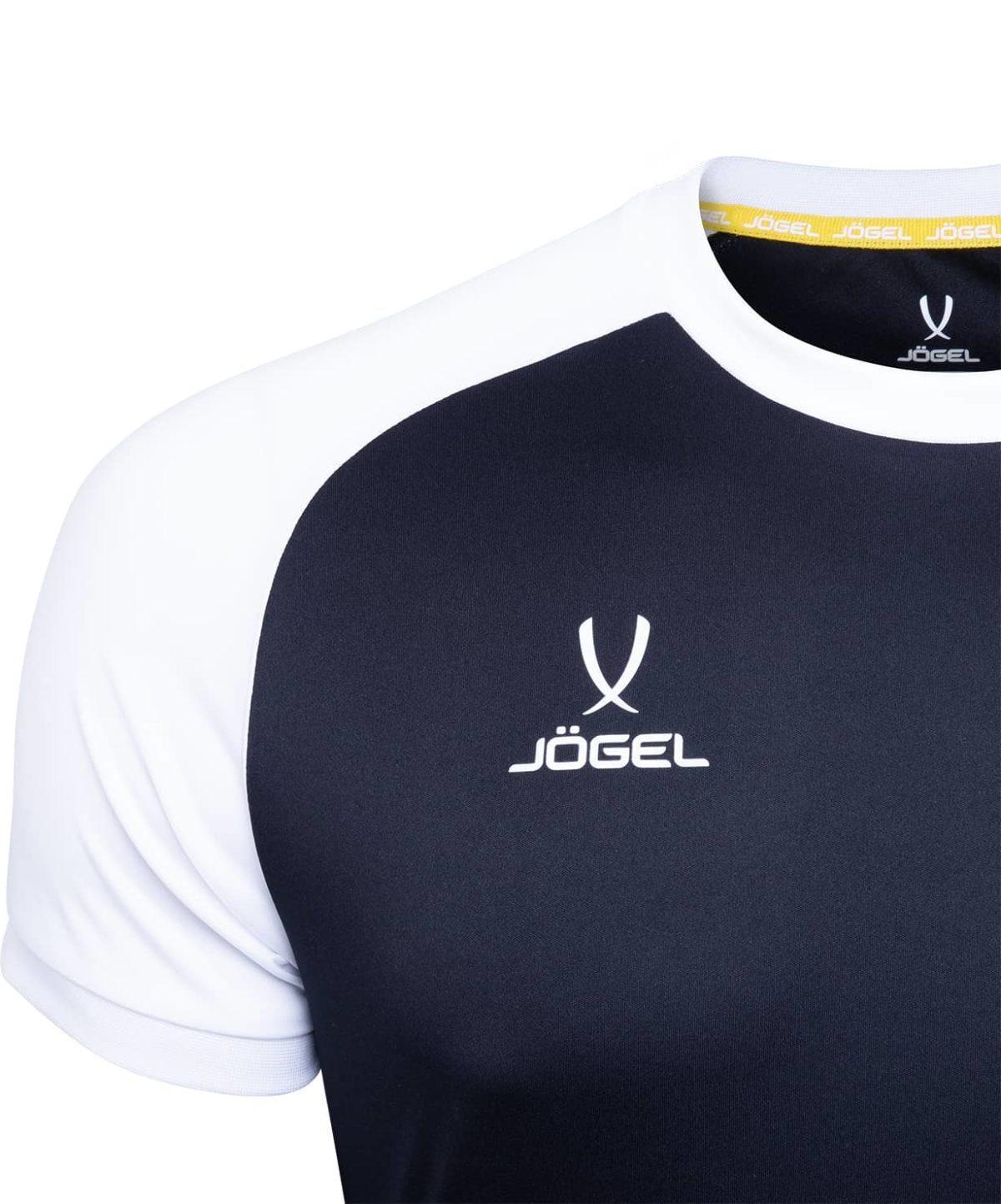 JOGEL CAMP Reglan футболка футбольная детская, черный/белый  JFT-1021-019-K - 3