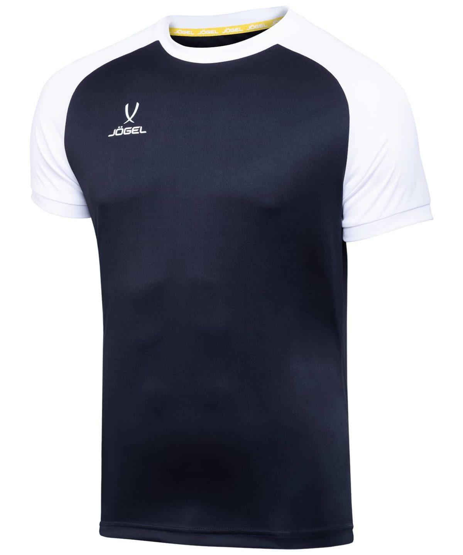 JOGEL CAMP Reglan футболка футбольная черный/белый  JFT-1021-061 - 1