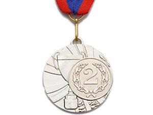 SPRINTER Медаль наградная с лентой, d - 5 см  5200-5 - 1