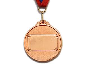 SPRINTER Медаль наградная с лентой, d - 5,3 см  530: бронза - 2
