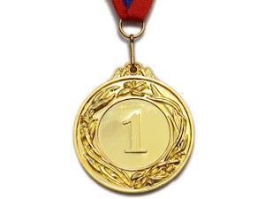 SPRINTER Медаль наградная с лентой, d - 5,3 см  530: золото - 1