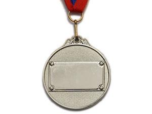 SPRINTER Медаль наградная с лентой, d - 5,3 см  530: серебро - 2