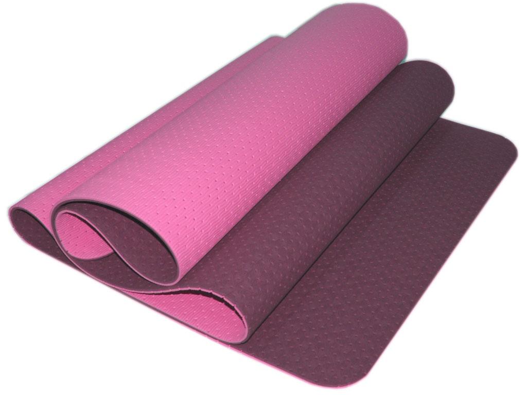 SPRINTER Коврик для йоги перфорированный  00400 180х61х0,5 см: фиолетовый - 1