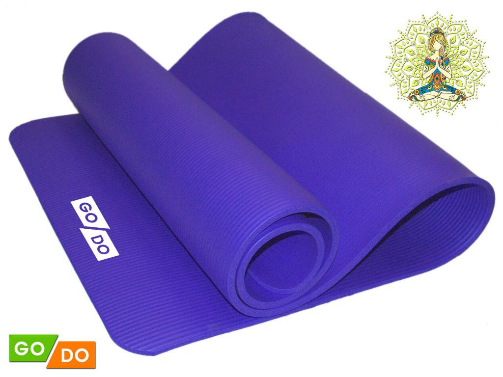 SPRINTER Коврик для йоги  29029 (К6010) 185х61х1 см - 1