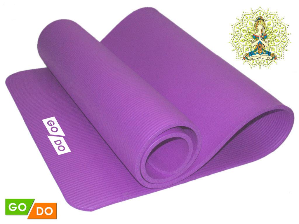SPRINTER Коврик для йоги  31674 (К6010) 185х61х1 см - 1