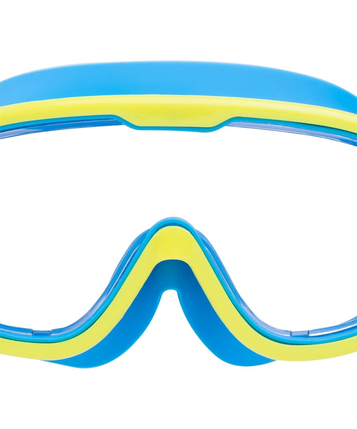 25DEGREES Очки-маска для плавания Hyper, детская  25D21018: голубой/лайм - 3