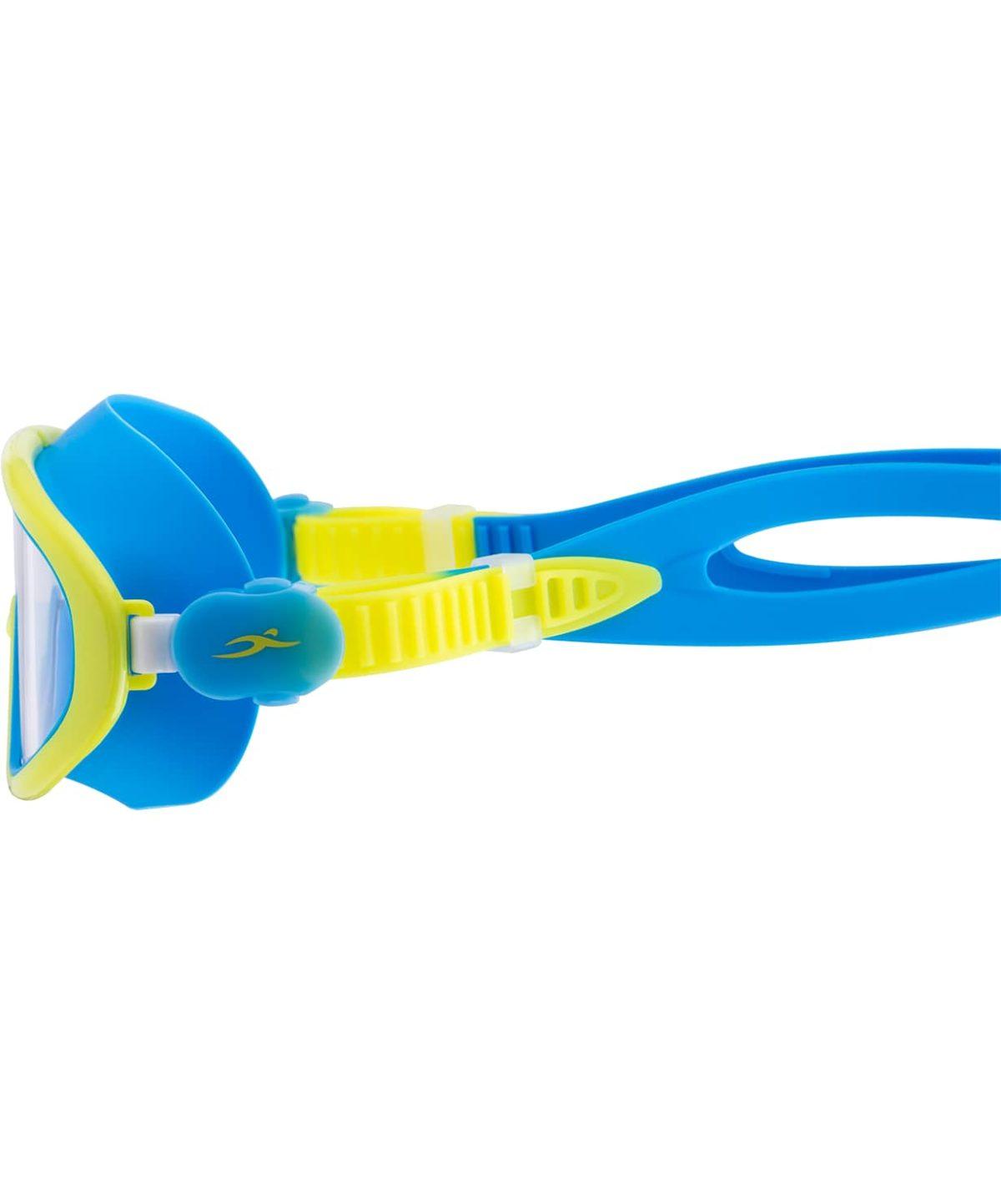 25DEGREES Очки-маска для плавания Hyper, детская  25D21018: голубой/лайм - 4