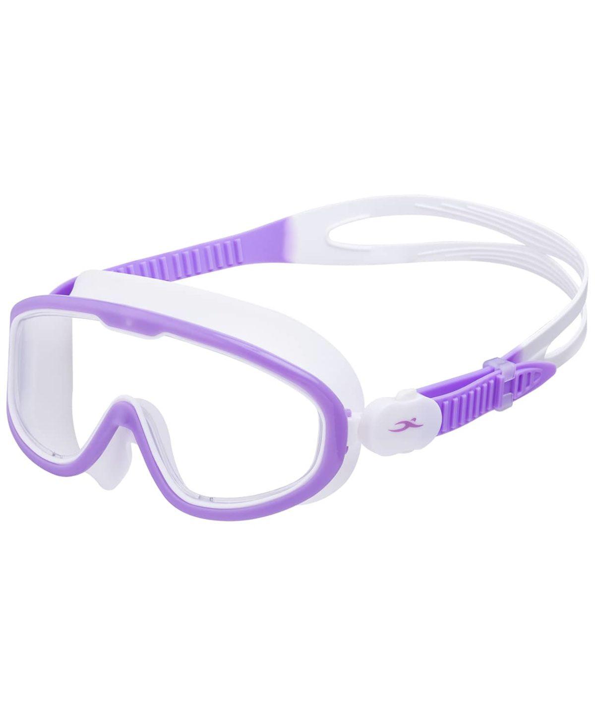25DEGREES Очки-маска для плавания Hyper, детская  25D21018: лиловый/белый - 1