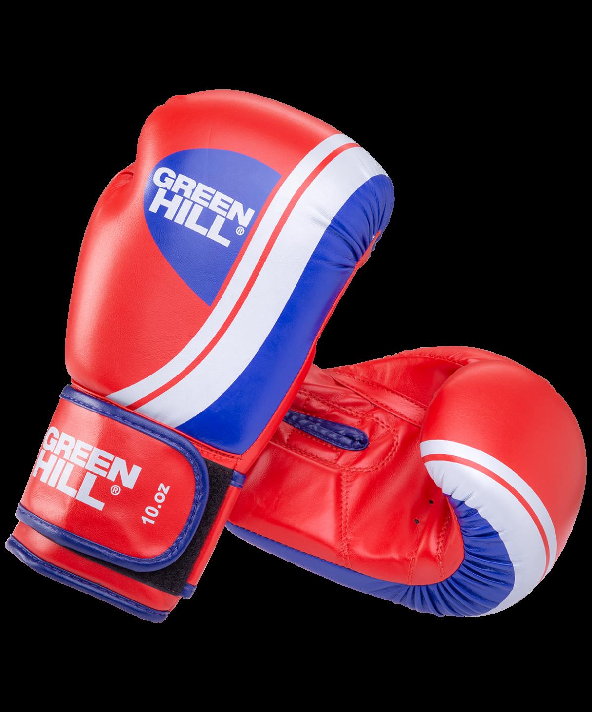 GREEN HILL Перчатки боксерские 10 oz Knockout  BGK-2266 - 1
