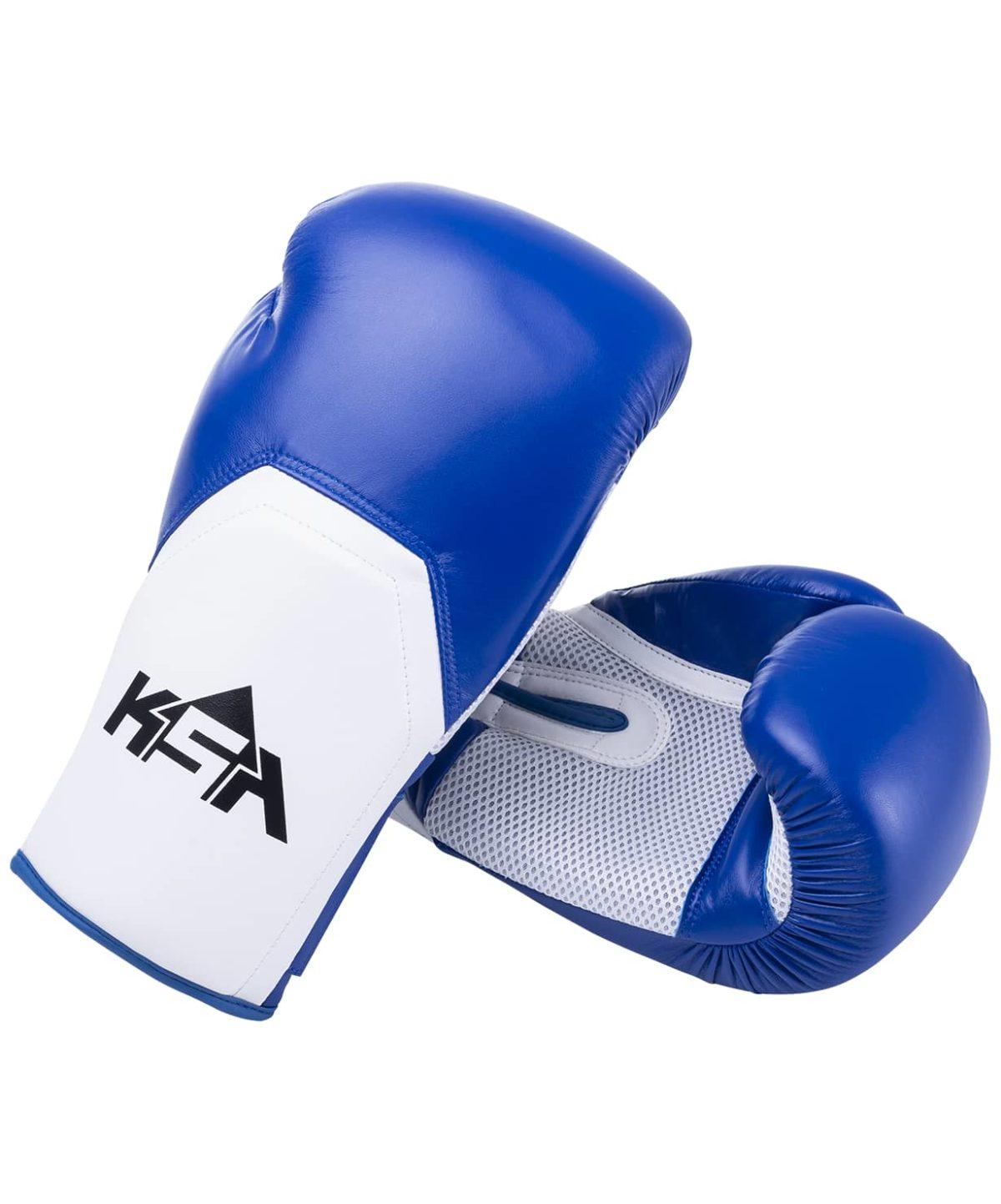 KSA Scorpio Blue Перчатки боксерские, 8 oz, к/з  17817 - 1
