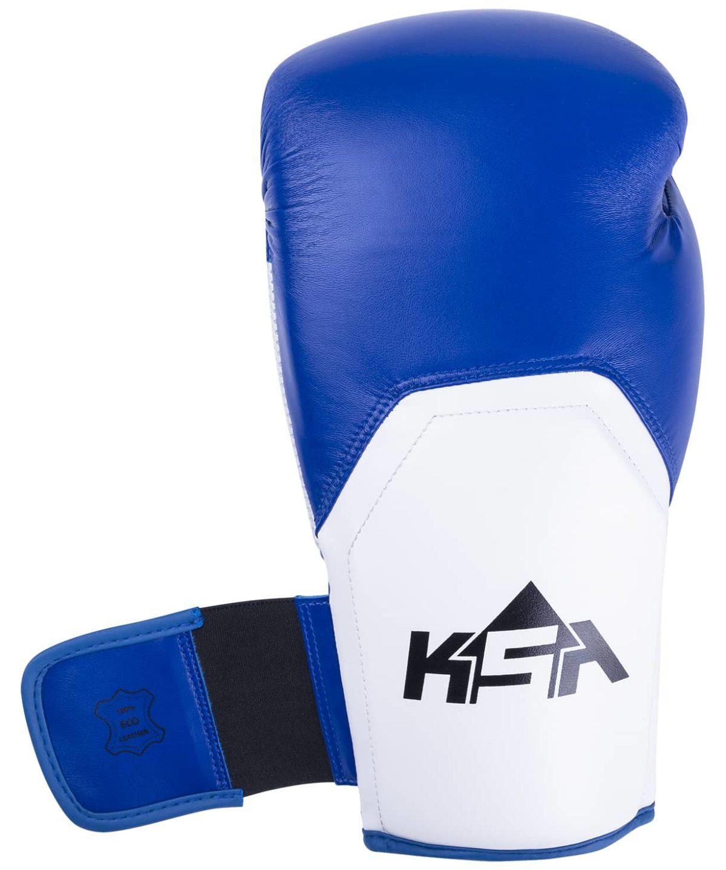 KSA Scorpio Blue Перчатки боксерские, 8 oz, к/з  17817 - 3