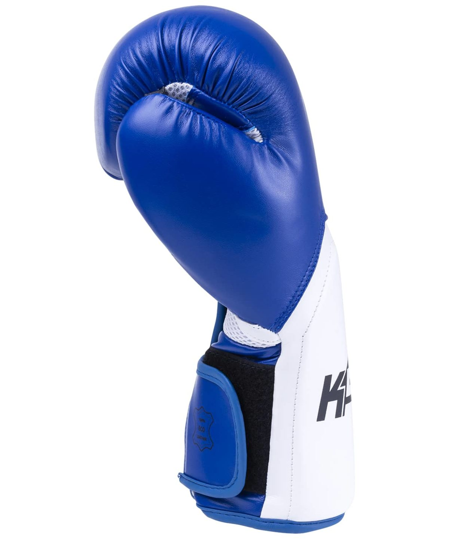 KSA Scorpio Blue Перчатки боксерские, 8 oz, к/з  17817 - 4