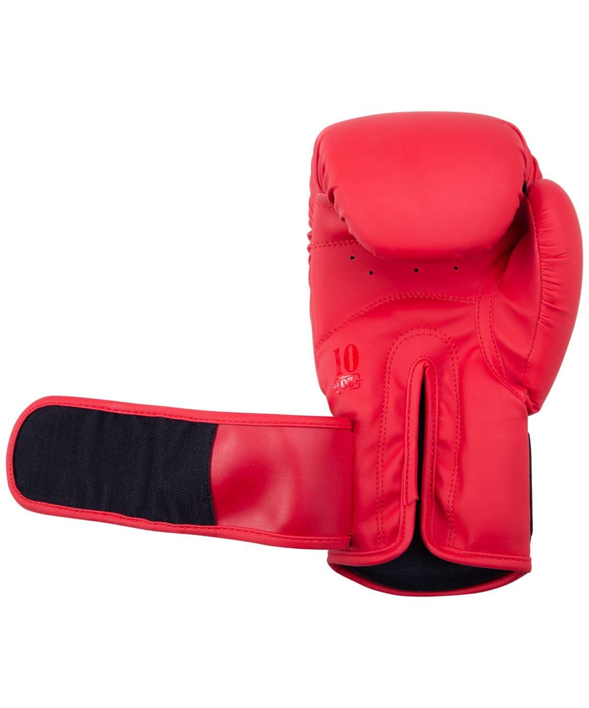 FIGHT EXPERT Перчатки боксерские 10 oz  BGS-V010: красный - 3