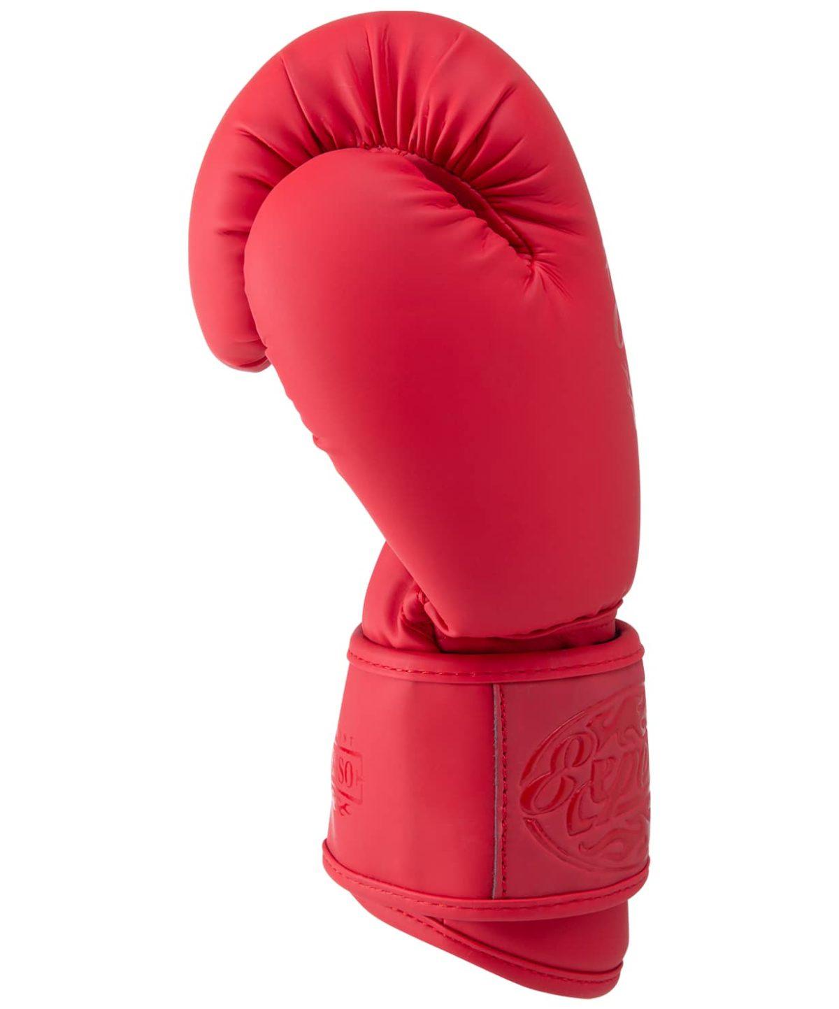 FIGHT EXPERT Перчатки боксерские 10 oz  BGS-V010: красный - 5