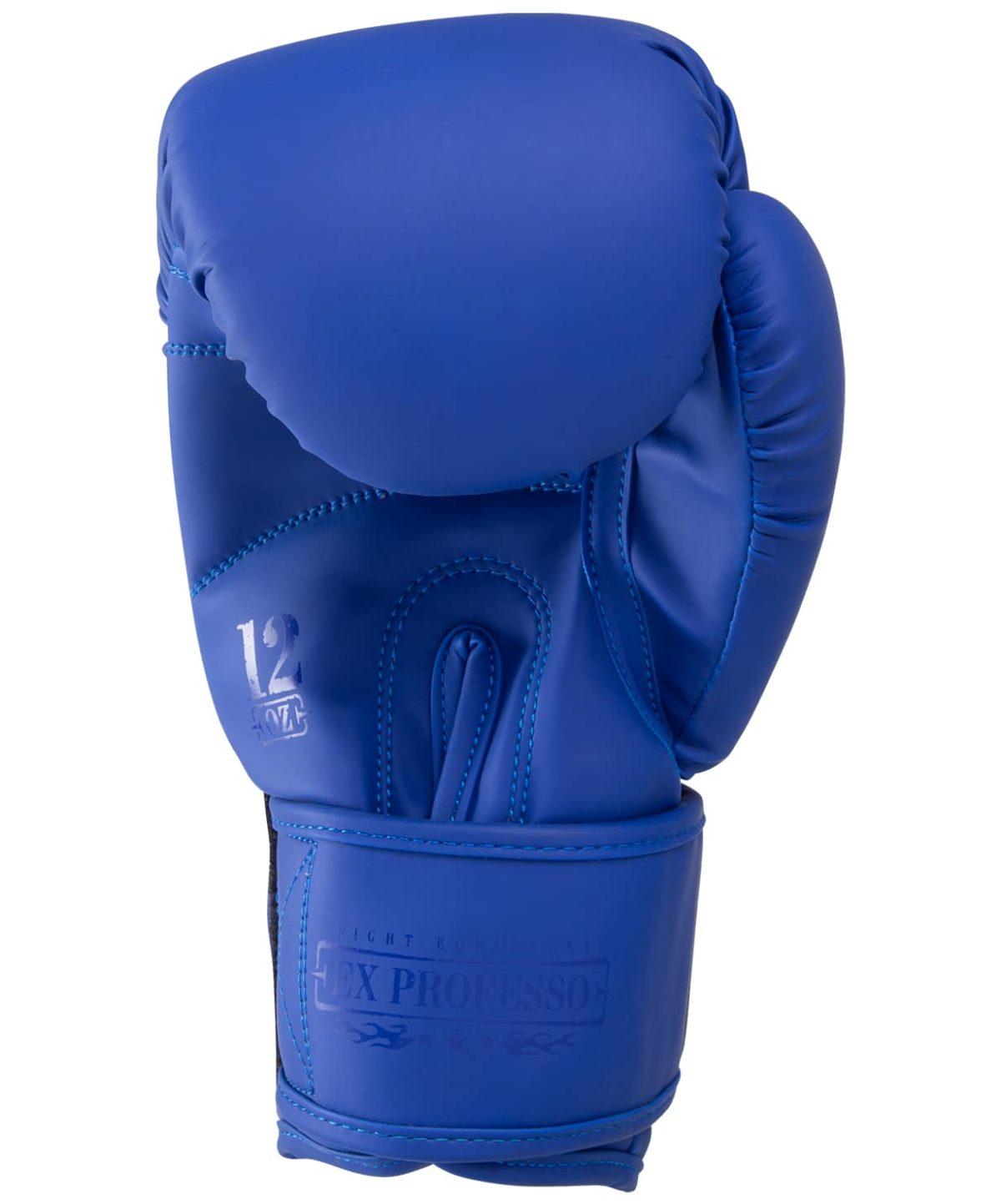 FIGHT EXPERT Перчатки боксерские 10 oz  BGS-V010: синий - 4
