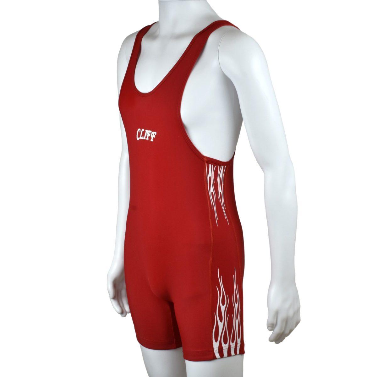 CLIFF Трико борцовское  236: красный - 1