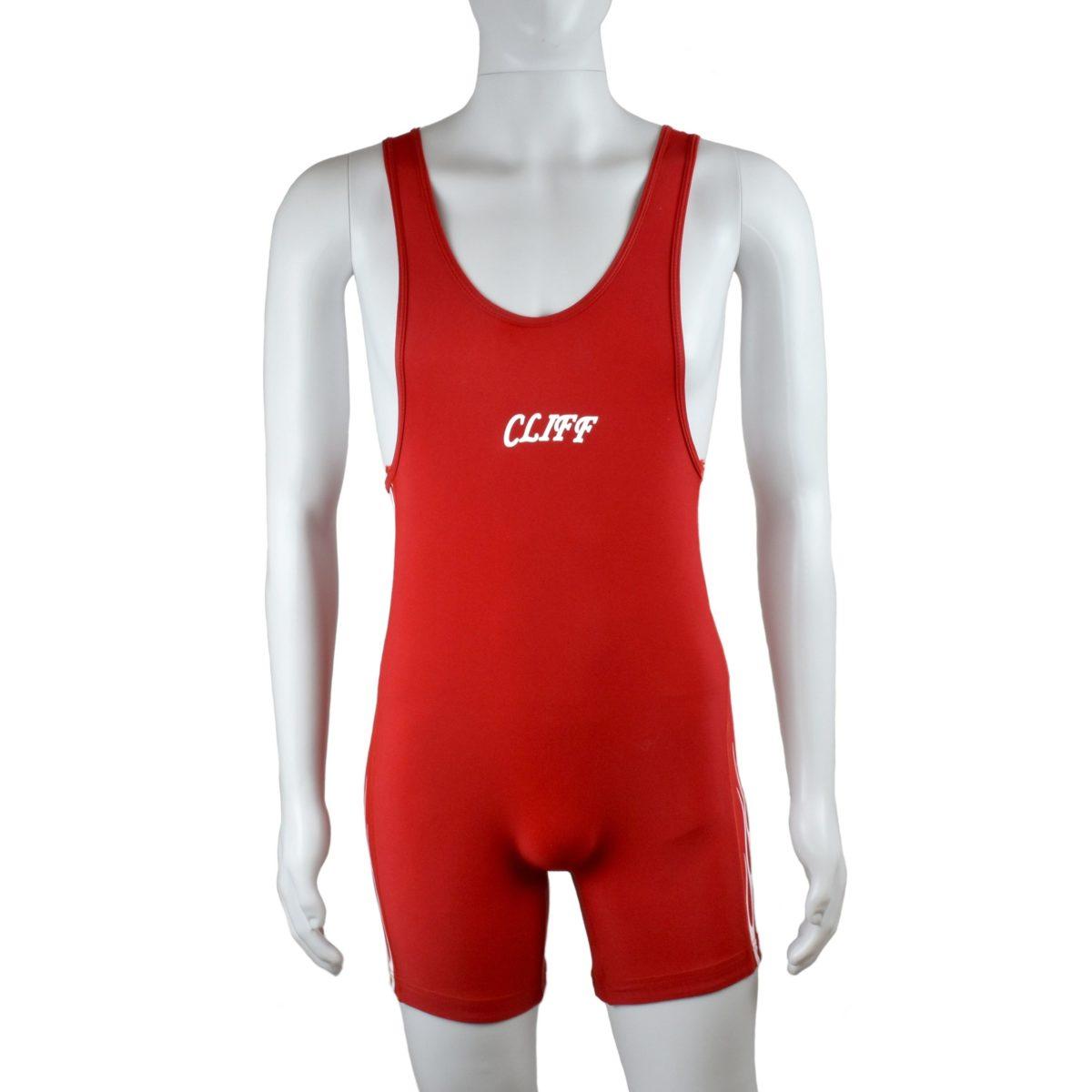 CLIFF Трико борцовское  236: красный - 2