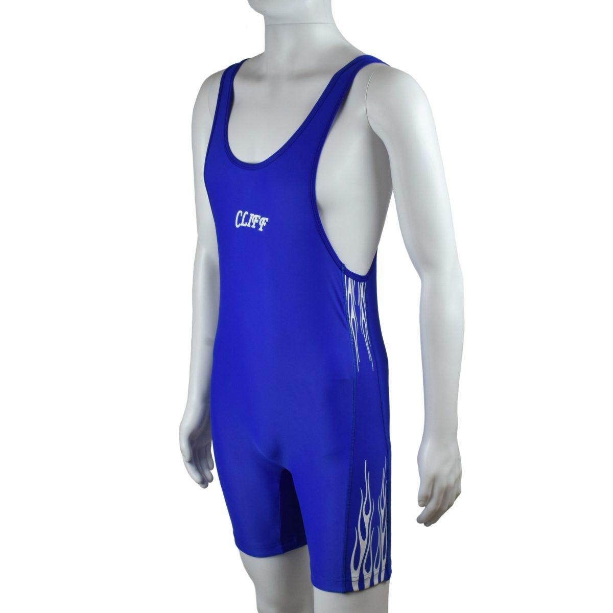 CLIFF Трико борцовское  236: синий - 1