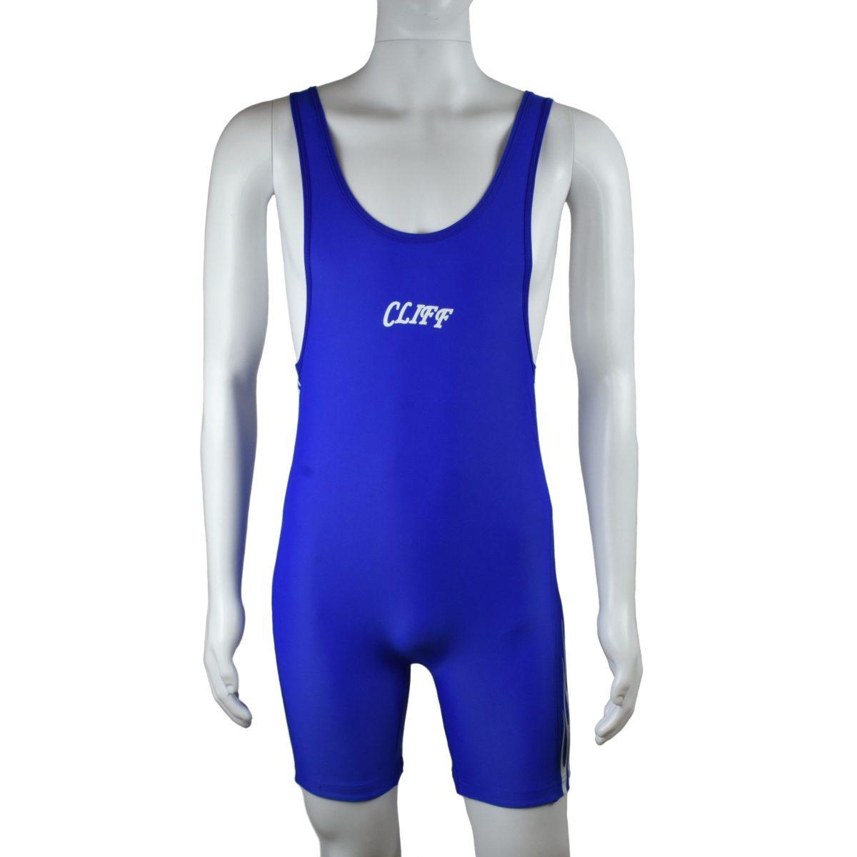 CLIFF Трико борцовское  236: синий - 2