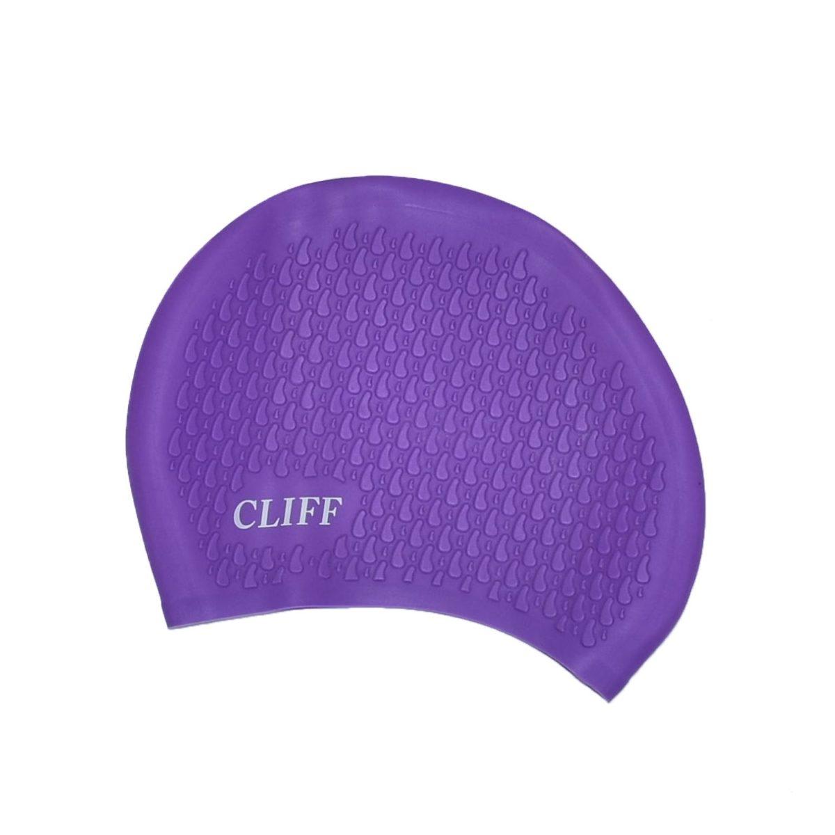 CLIFF Шапочка для плавания силикон. д/длинных волос  CS17 - 2