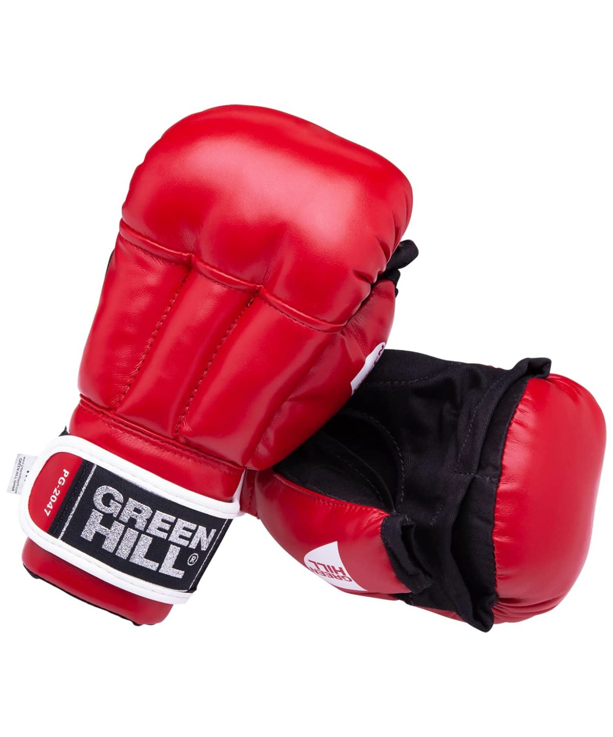 GREEN HILL Перчатки для рукопашного боя, к/з  PG-2047 - 1