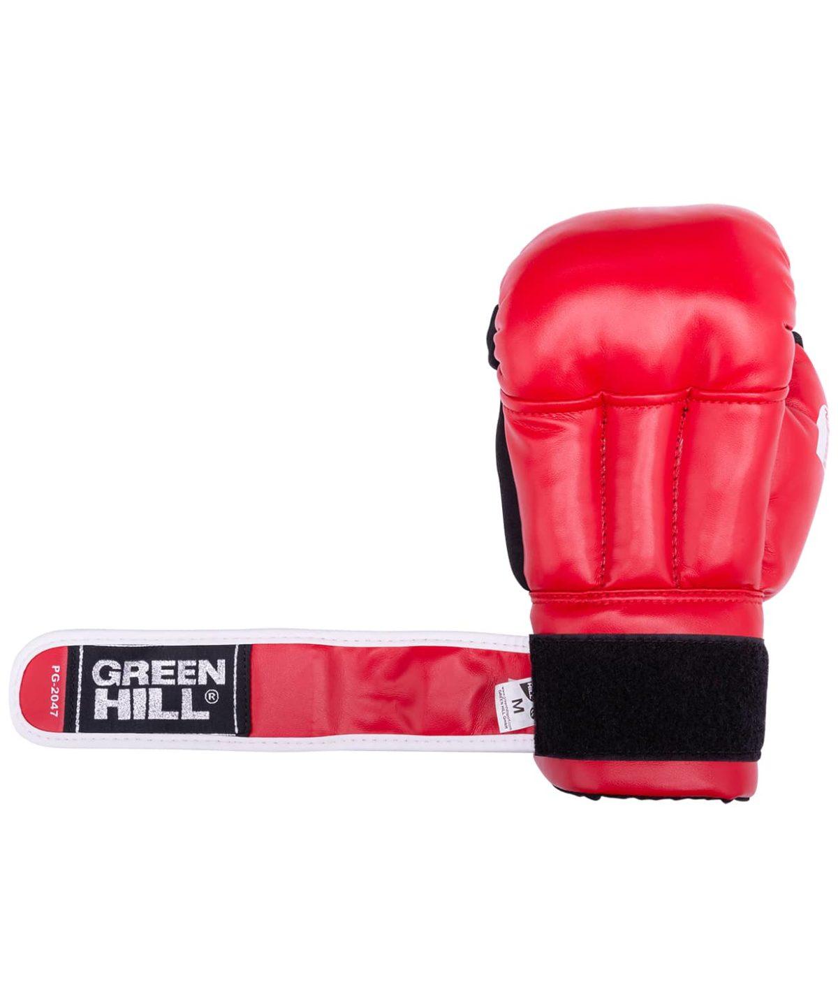 GREEN HILL Перчатки для рукопашного боя, к/з  PG-2047 - 2