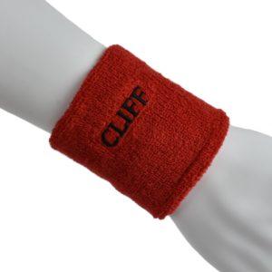 CLIFF Напульсник х/б  020: красный - 15