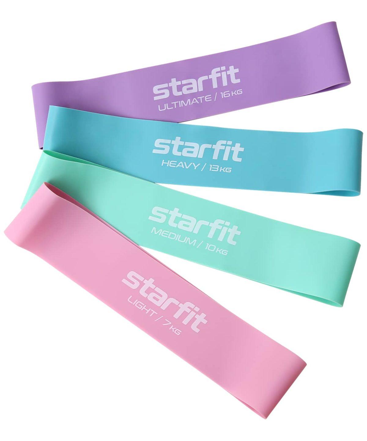 STARFIT Комплект мини-эспандеров Core, пастельный  ES-203 - 1