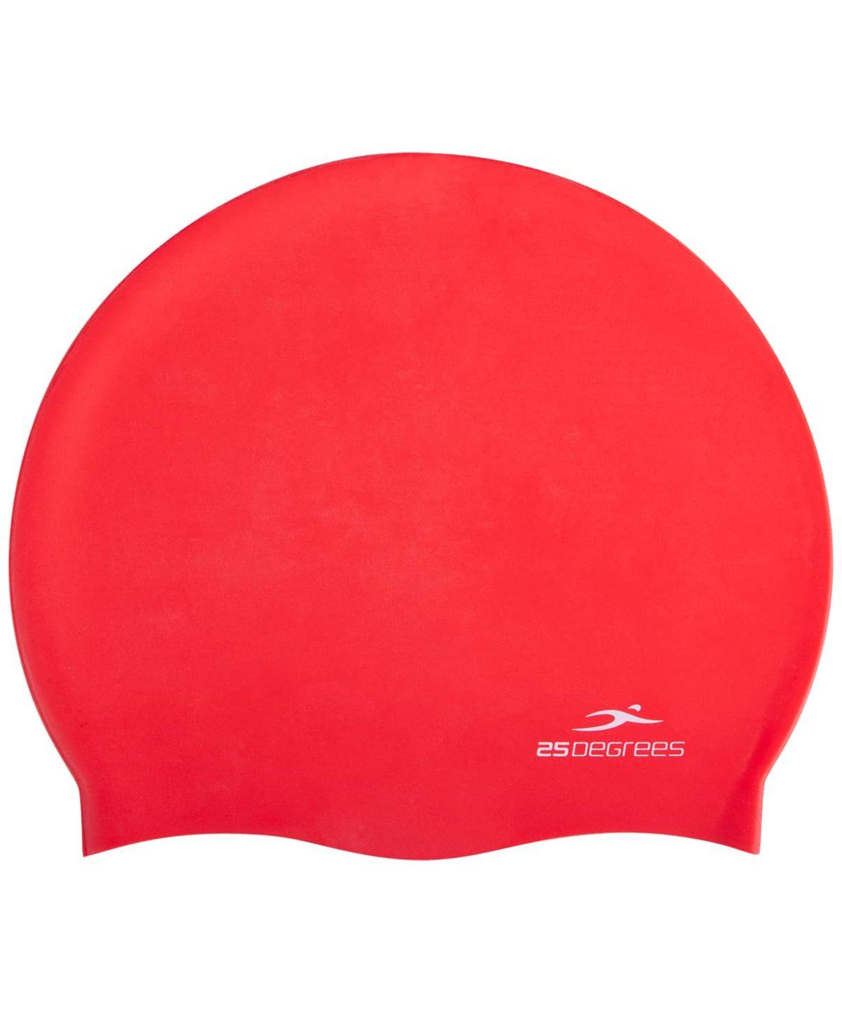 25DEGREES Шапочка для плавания Nuance, силикон  25D21004A: красный - 2