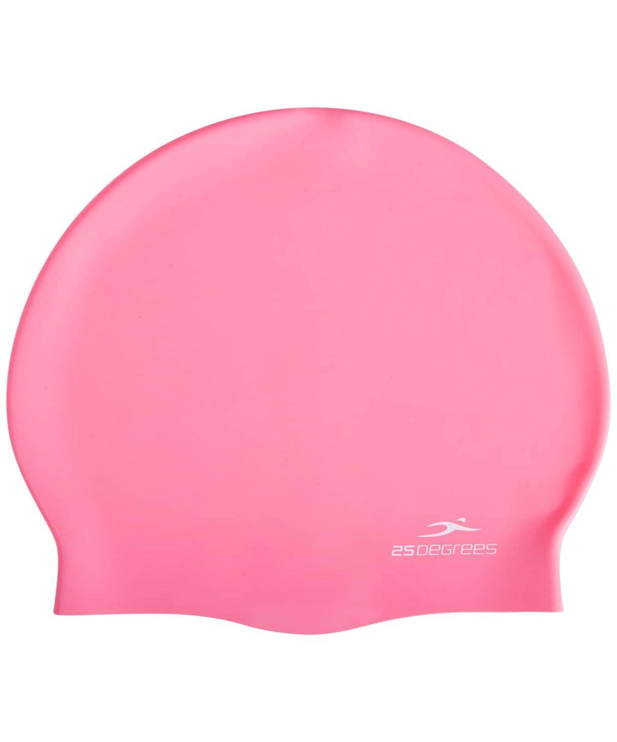 25DEGREES Шапочка для плавания Nuance, силикон  25D21004A: розовый - 2