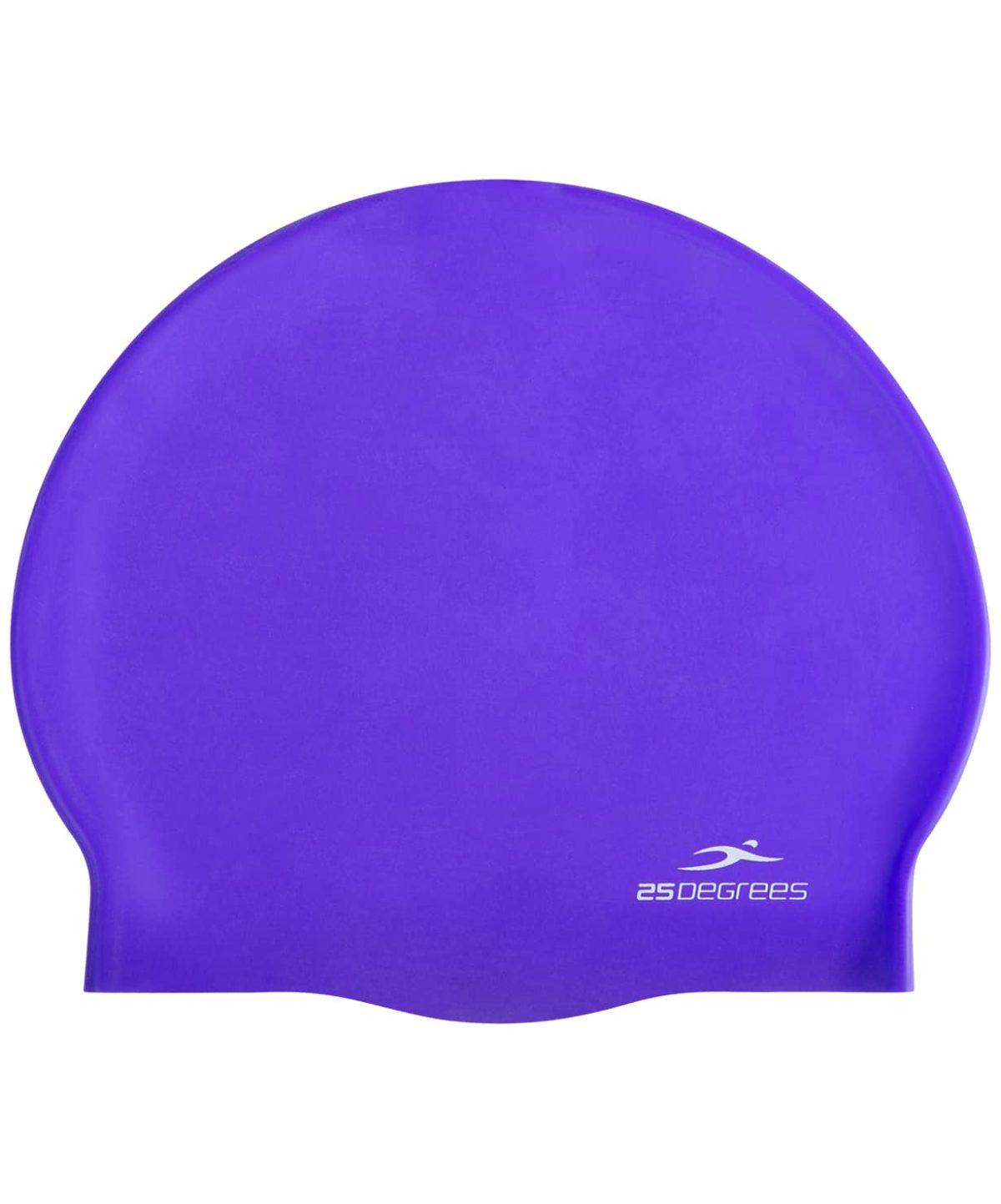 25DEGREES Шапочка для плавания Nuance, силикон  25D21004A: фиолетовый - 2