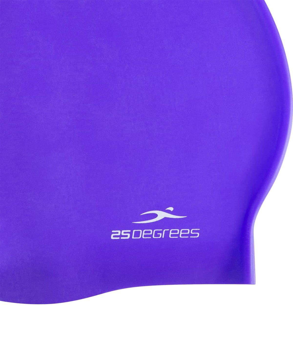 25DEGREES Шапочка для плавания Nuance, силикон  25D21004A: фиолетовый - 3