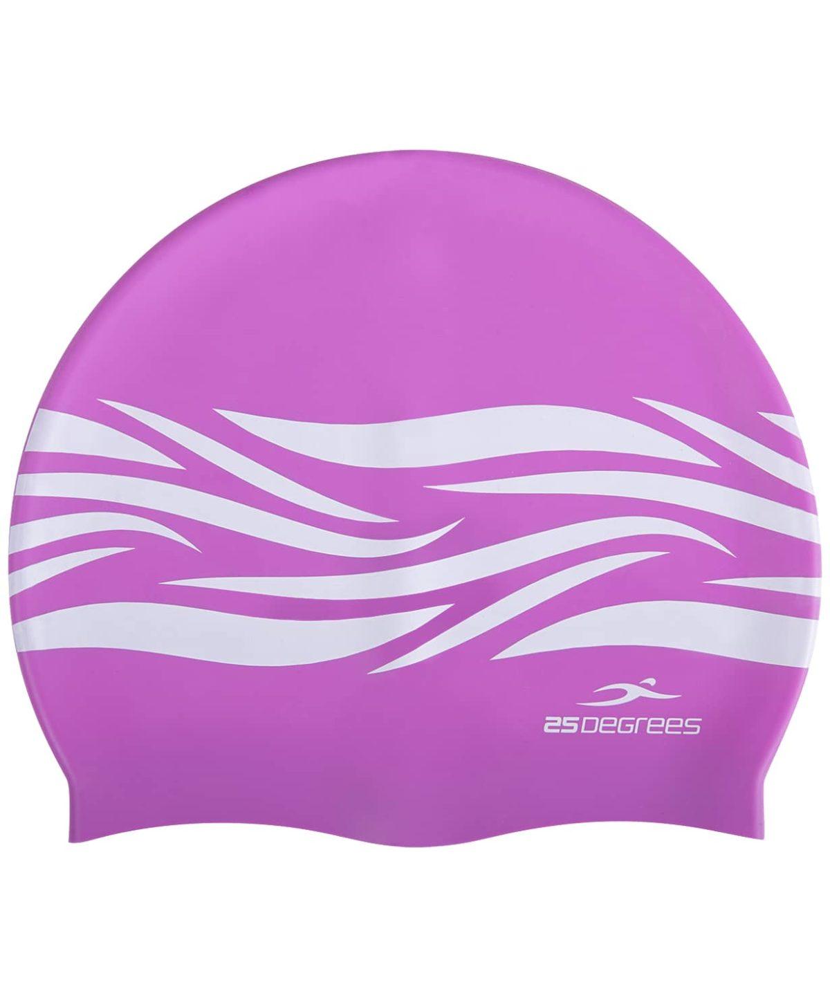 25DEGREES Шапочка для плавания Fame, подростк. силикон  25D21006J: лиловый - 2