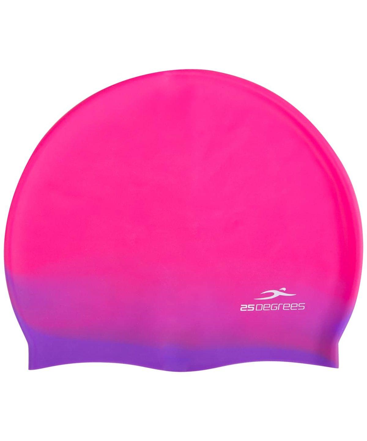 25DEGREES Шапочка для плавания Relast, силикон  25D21011A: розовый/фиолетовый - 2