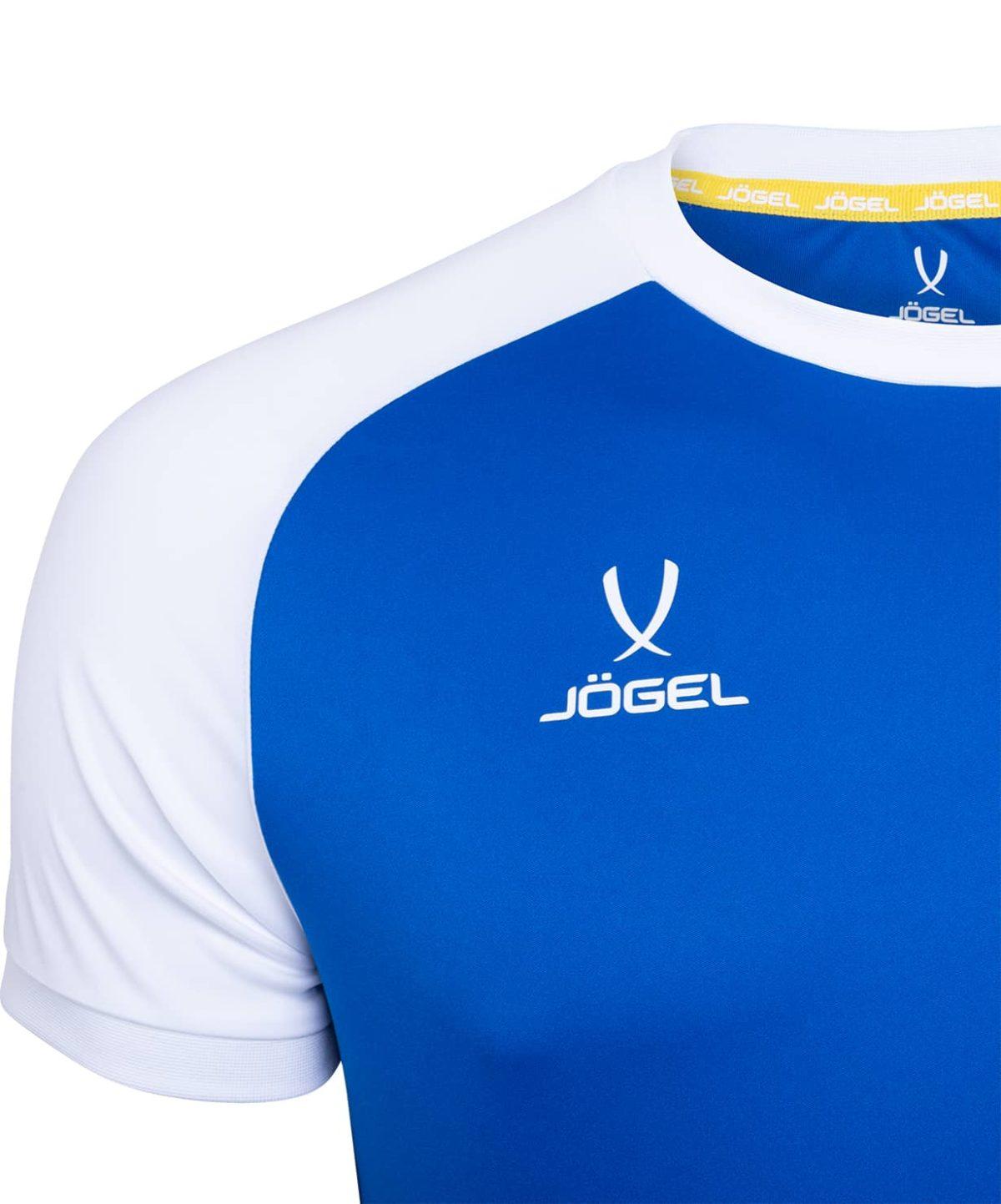 JOGEL CAMP Reglan футболка футбольная, синий/белый  JFT-1021-071 - 3