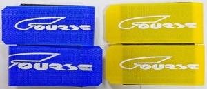 КУРС Связки для лыж длинные для лыж и комплектов 0-450: салатовый - 1